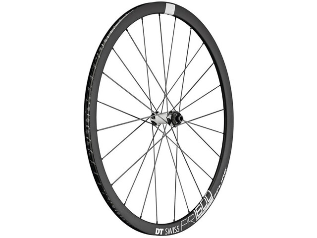 DT Swiss PR 1600 Spline DB 32 Front Wheel Alu Center Lock 100/12mm TA black